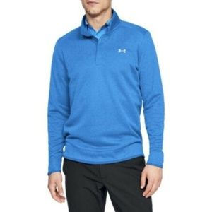 Under Armour Sweaterfleece Snap Mock Golf Pullover